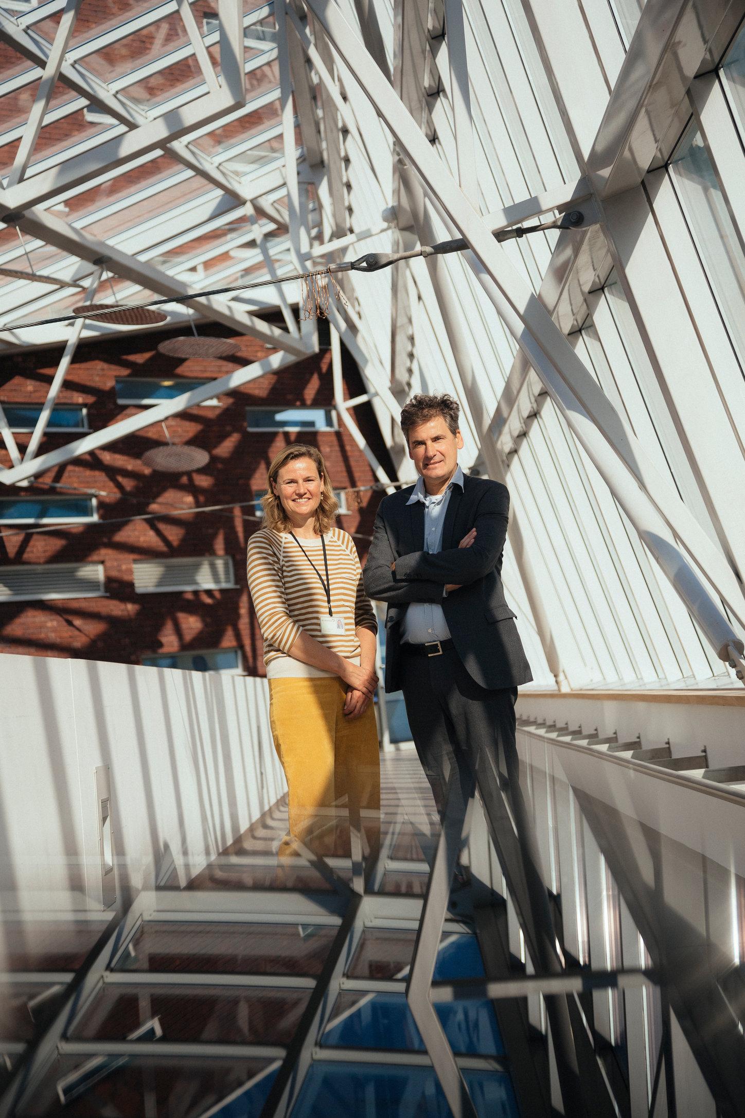 Geert Smits en Dr Catherine Goossen