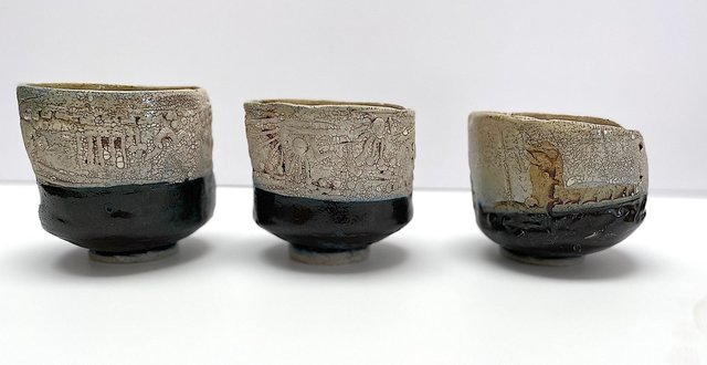 "9. Cups & Bowls, 2-5"" in Dia."
