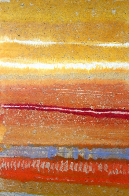 """San Andres Mountains 36'X 24"""" $1,500"""