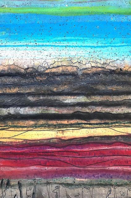 Tucumari Mesa, NM Monotype 28 x 18 in $1,200.00