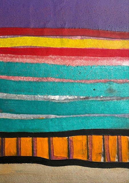 Jemez Springs, NM Monotype 14x 11 in $500.00