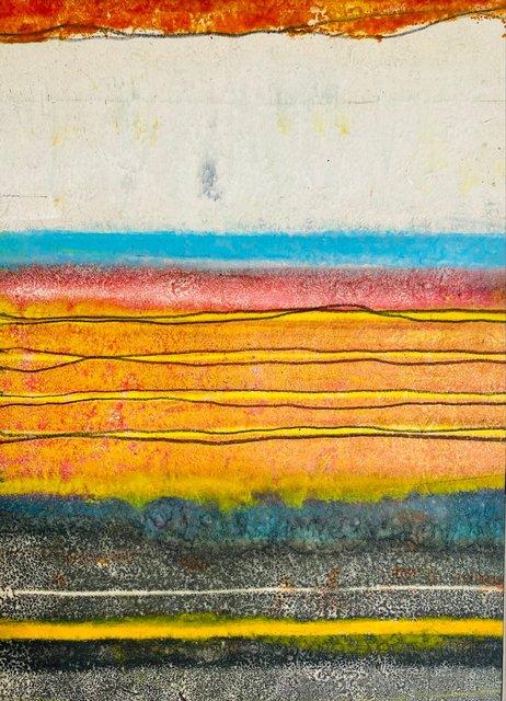 Arroyo Seco, NM Monotype 20 x 16 in $500.00