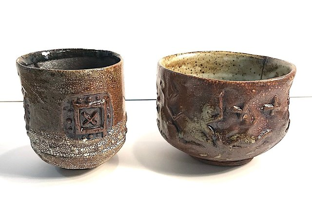 Clay Cup and Bowl
