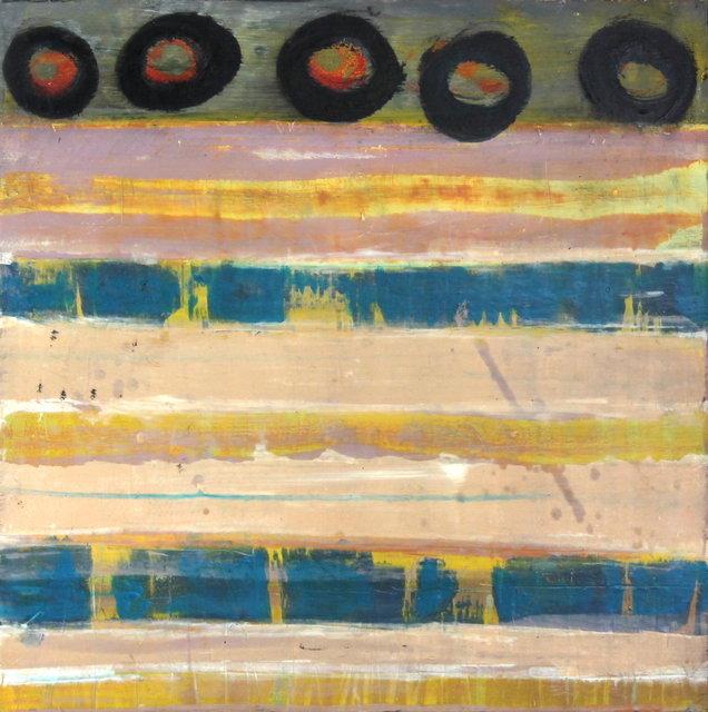Okay Owingeh pueblo 18x18 in, Oil & Cold Wax on a birch wood panel $1,250.00