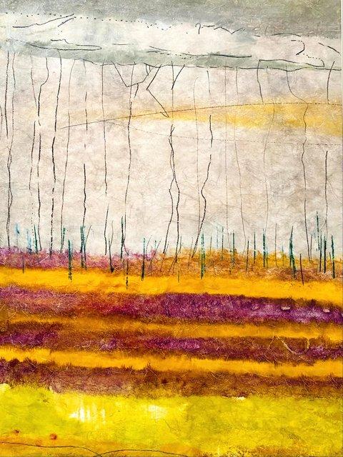 Bruce Ridge, Valles Caldera, NM - Monotype 36x24 in.$2,250.00