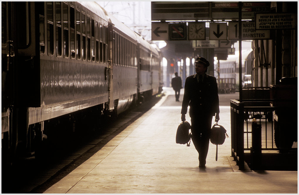 Train driver, Czech Republic