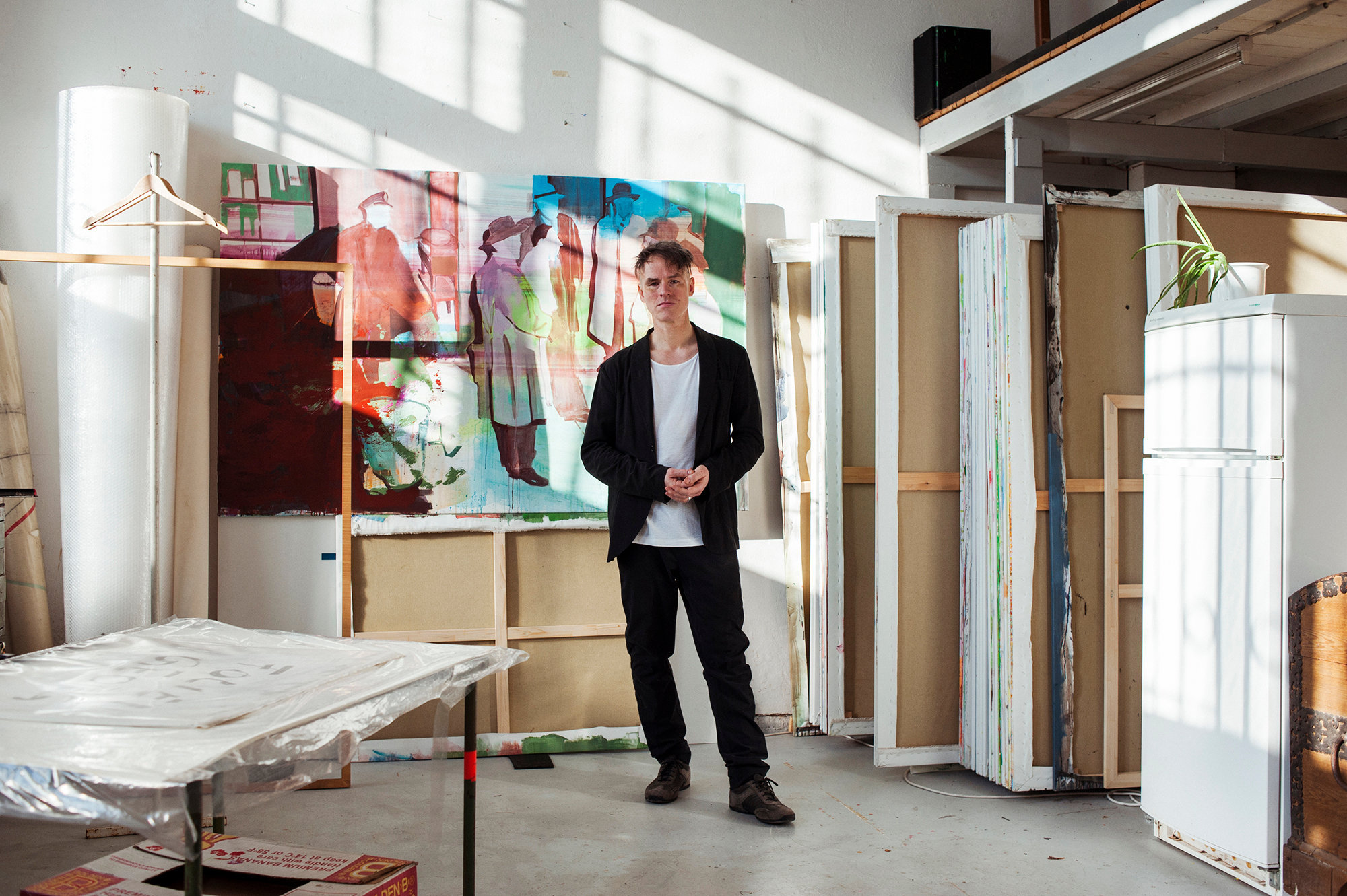 Hugo Mayer, Painter
