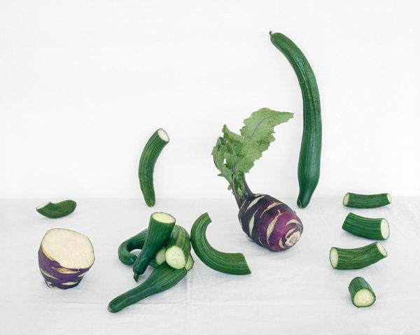 Cucumbers & Kohlrobi, c 2013