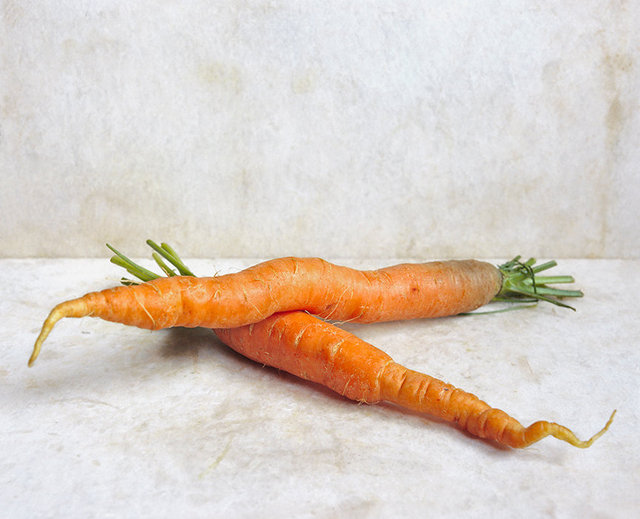 Carrots Crossed, c 2007