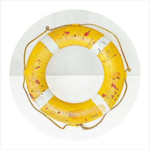 Life Preserver (Yellow), c 2011