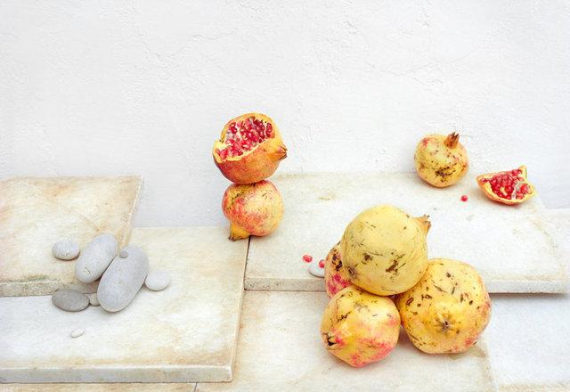 Pomegranates, c 2007