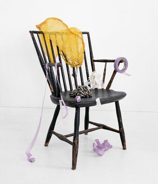 Black Chair, Yellow Sack