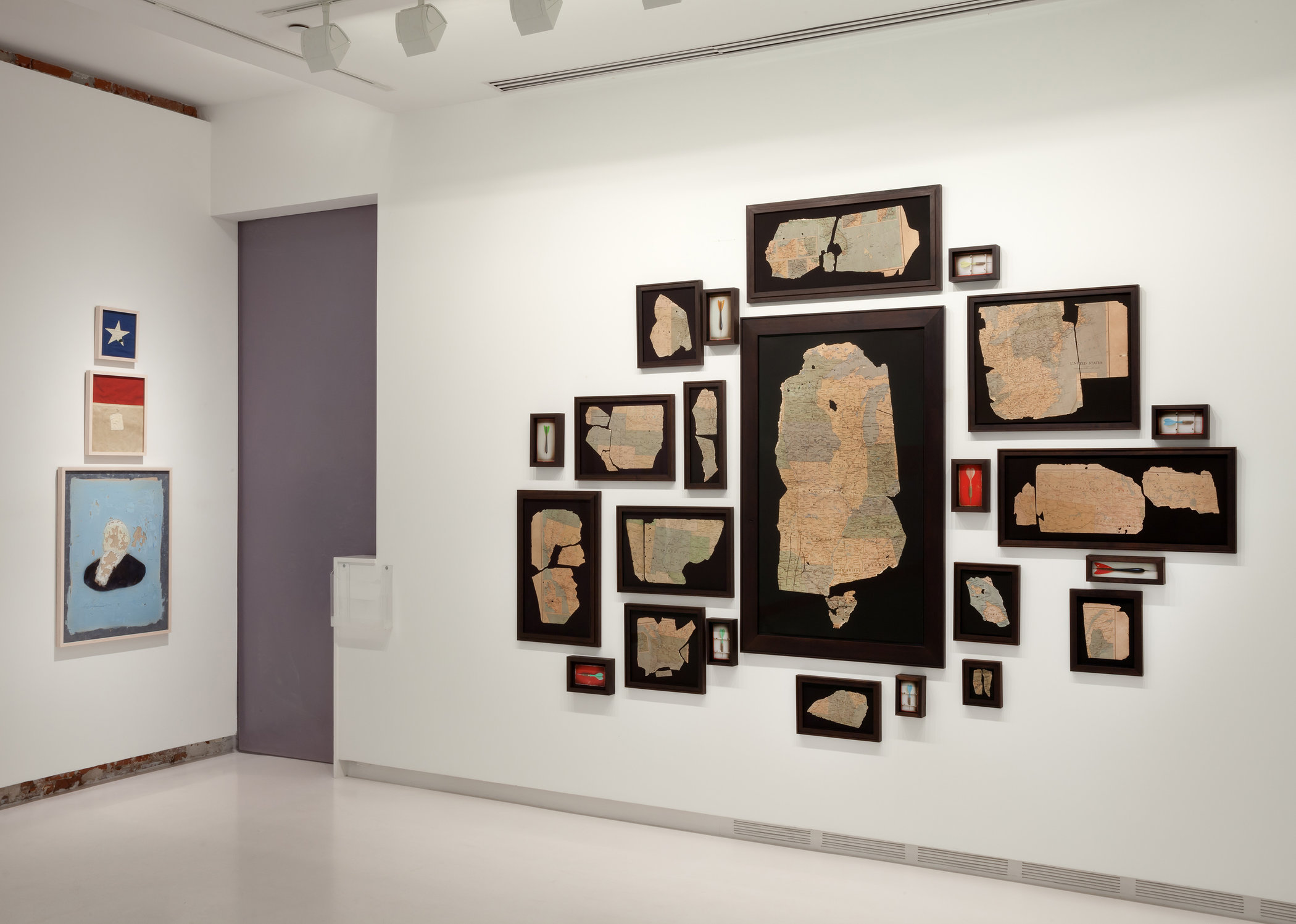 Installation View, Arthur Roger Gallery, 2013