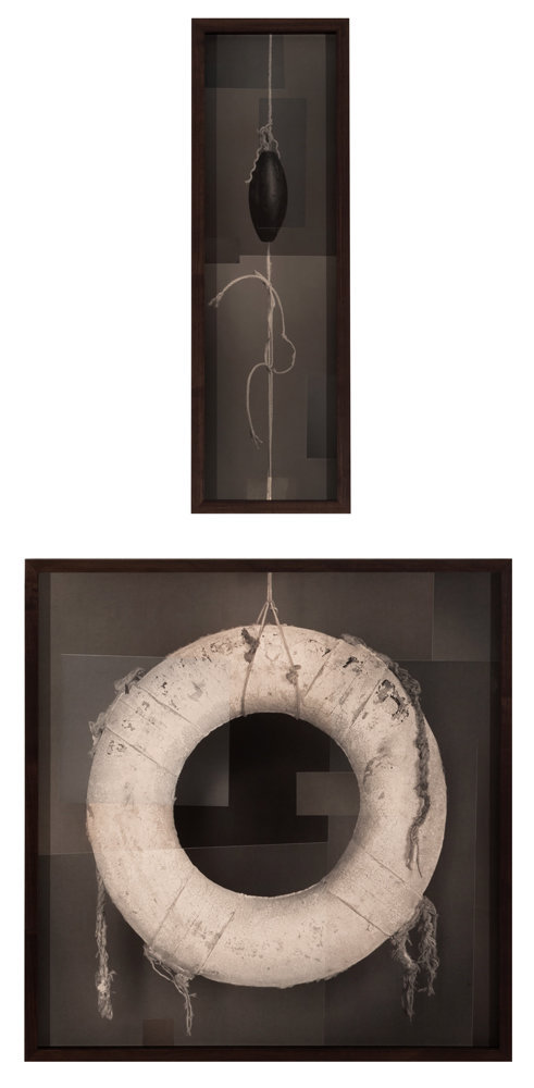 Life Preserver (Collage), c 2013