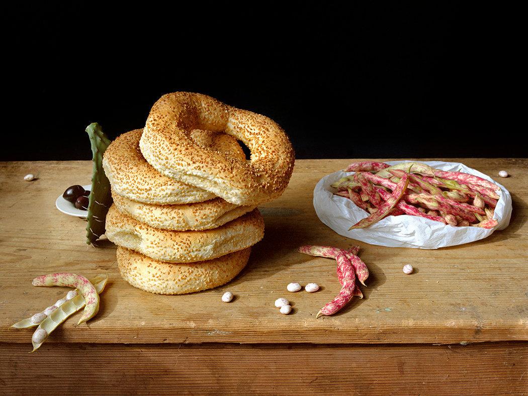 Sesame Rings, c 2007