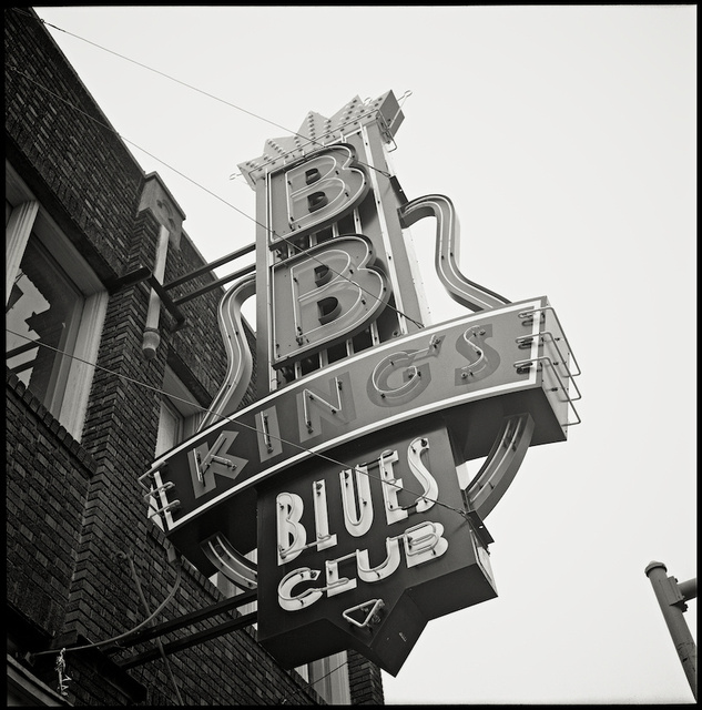 BB Kings Blues Club sign