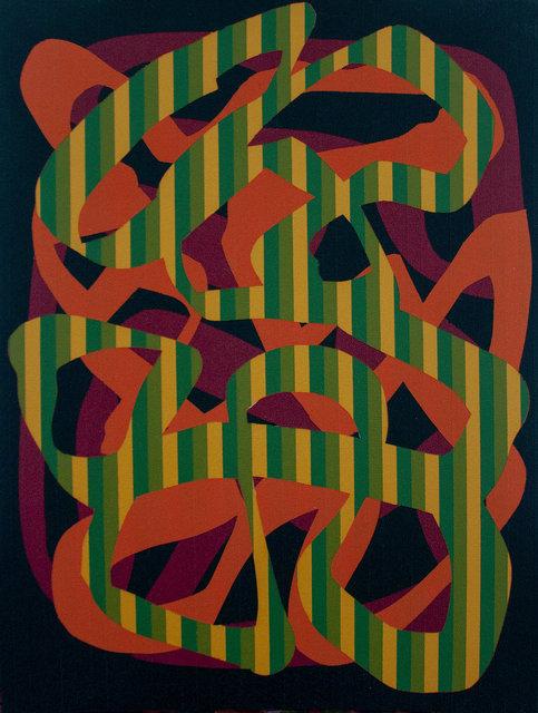 Benjamin Rodger - Ligne de lignes vertes et jaune