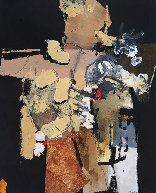 Jean-Francois Provost - Matiere en mouvement sur fond noir 2