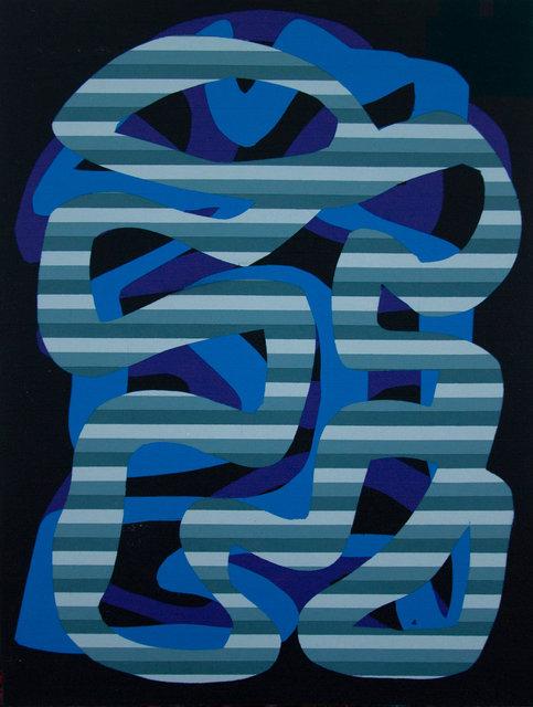 Benjamin Rodger - Ligne de lignes grises