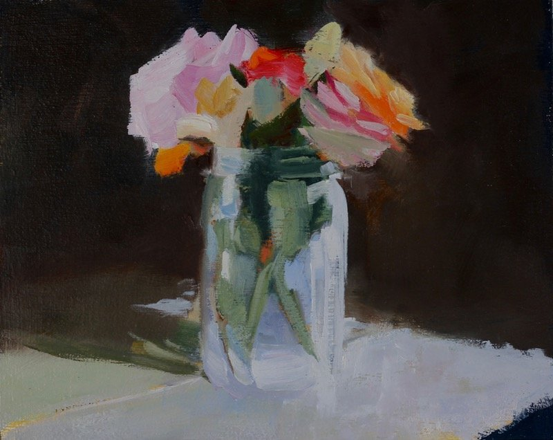 Honey Jar Flowers