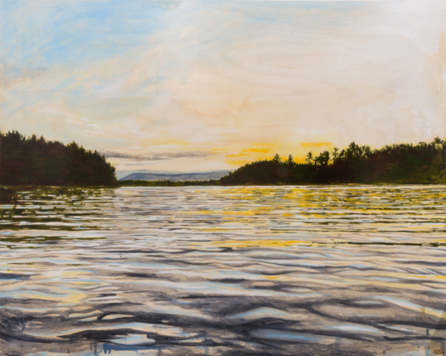 Sarah Hatton - Arrive at Twilight (Lac Poisson Blanc)