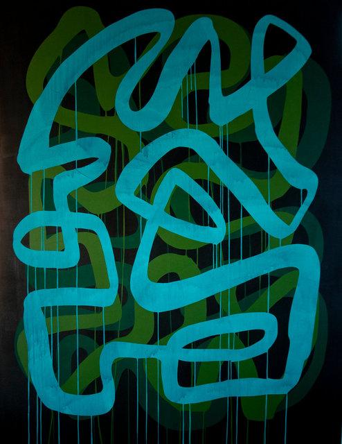 Benjamin Rodger - Grande ligne bleu vert
