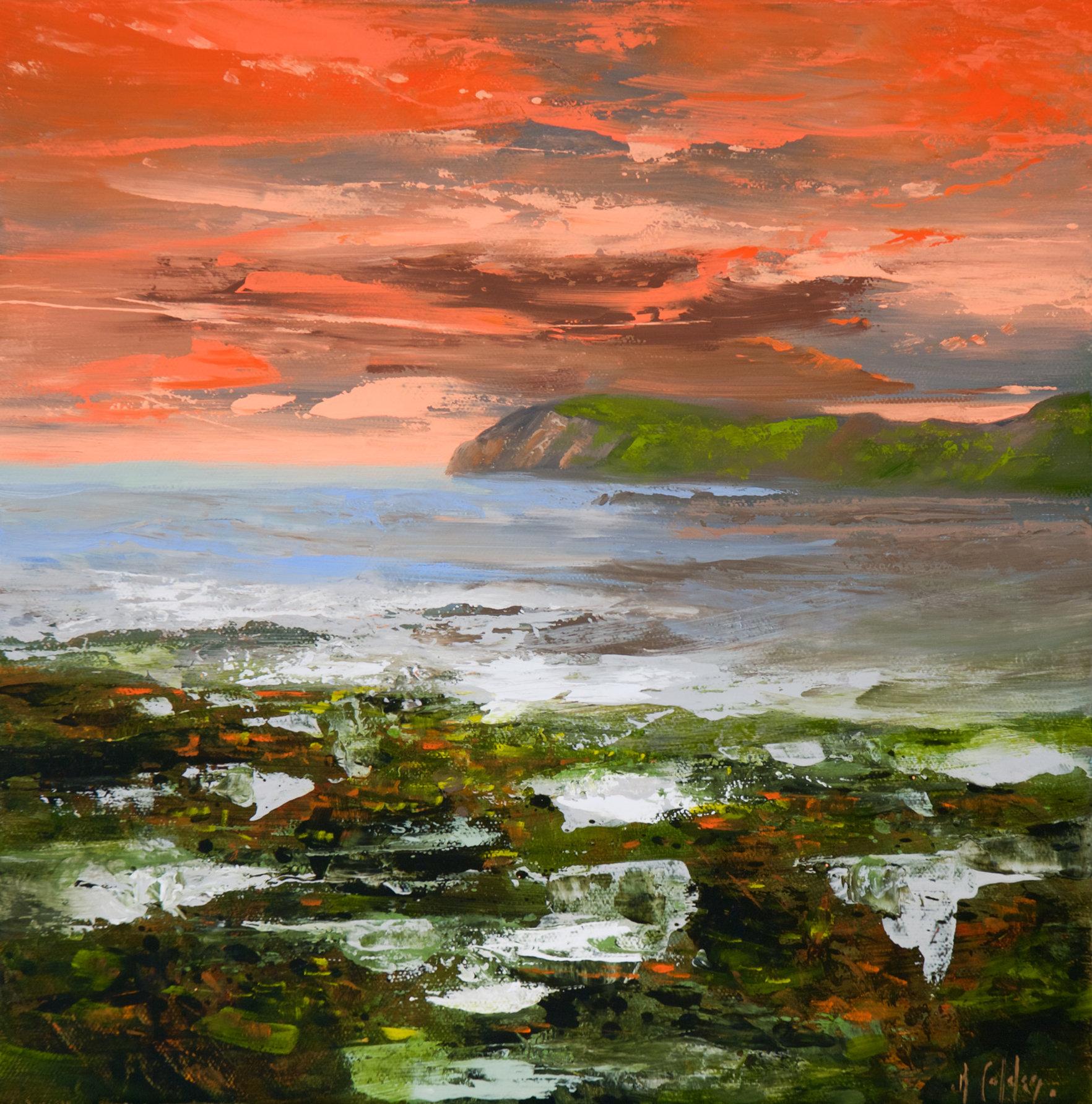 Réal Calder - Brunante sur la baie