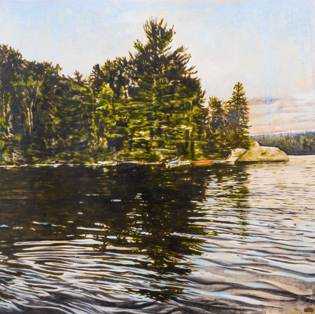 Sarah Hatton - Red Blue Haven (Lac Poisson Blanc)