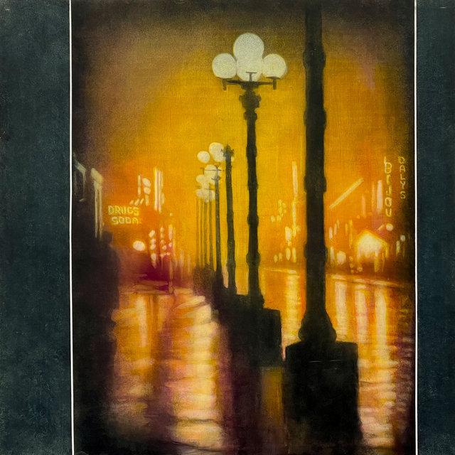 Coburn's 1910 Broadway at Night
