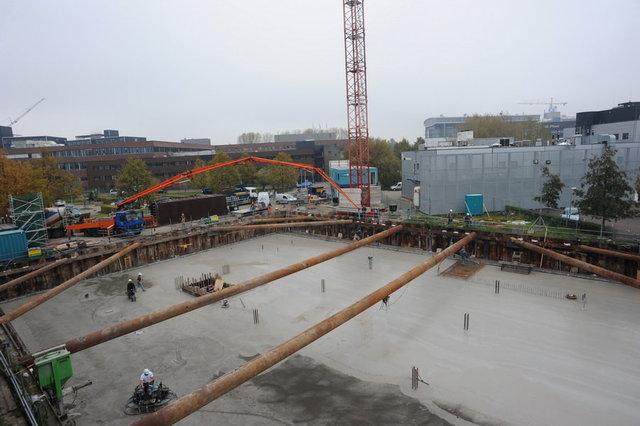 bouwvoortgang CHDR