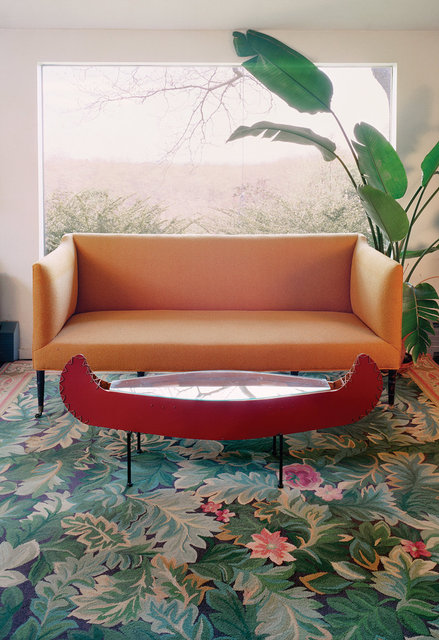 Untitled Interior (canoe table), 2002