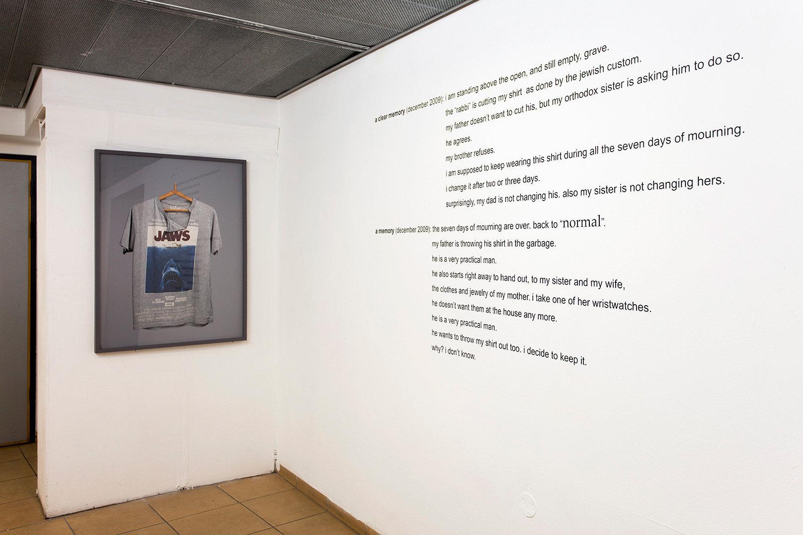 installation view    morel derfler gallery, wizo academy of art, haifa, israel    2014