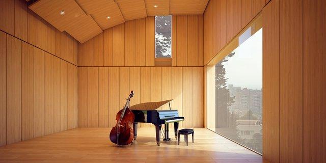 Espacio de ensayos / Rehearsal space