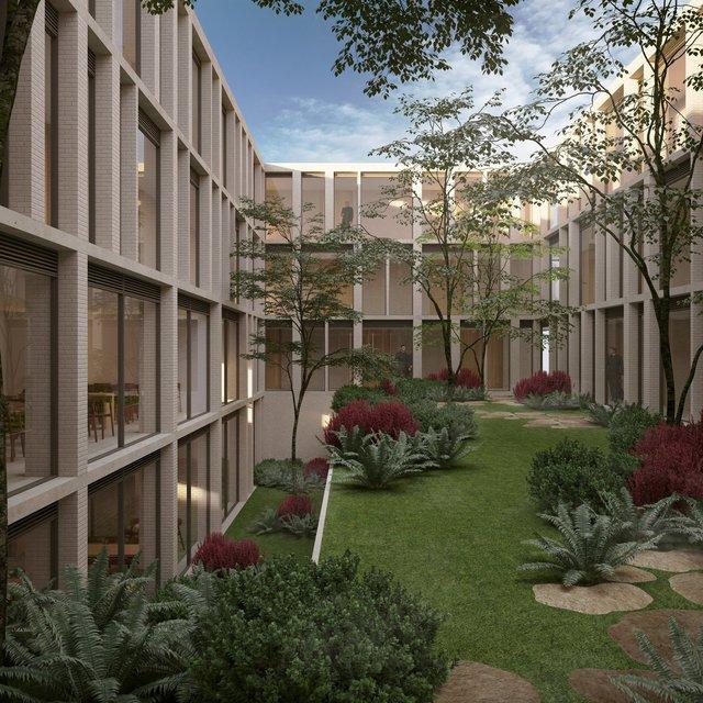 Jardín del Claustro / Cloister garden