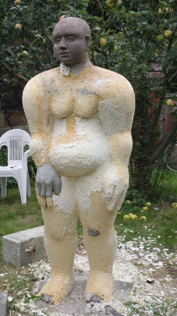 Woman in the garden 2012