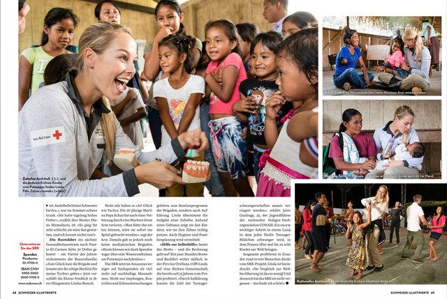 Mit Linda Fäh und SRK in Ecuador, SI 6/18