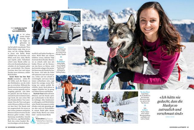 Schlittel Extra, Schweizer Illustrierte, 2018