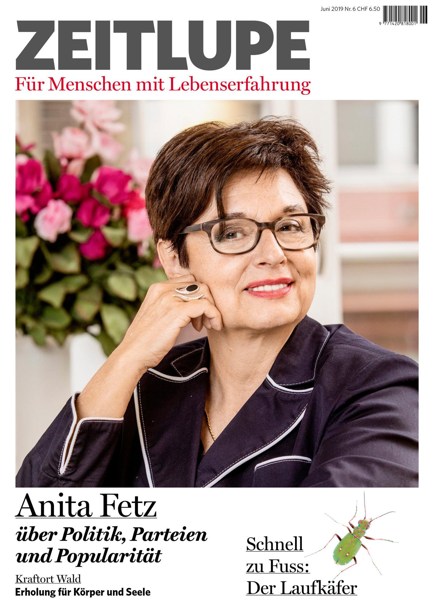 Anita Fetz, Juni 2019