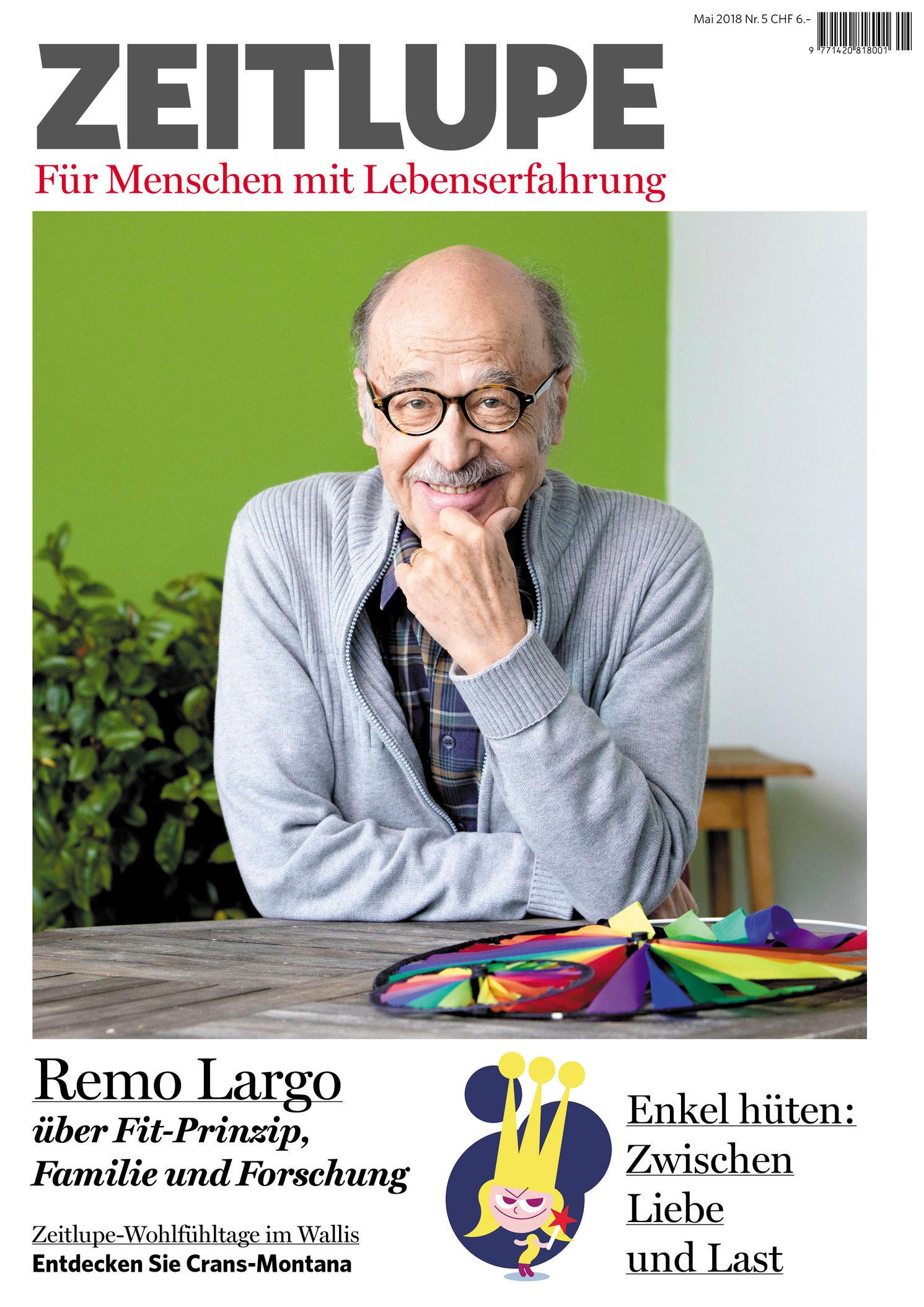 Remo Largo, Zeitlupe, Mai 2018