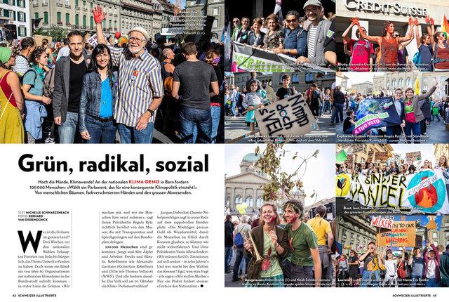 Wem sini Zuekunft?!?  Schweizer Illustrierte 42/19