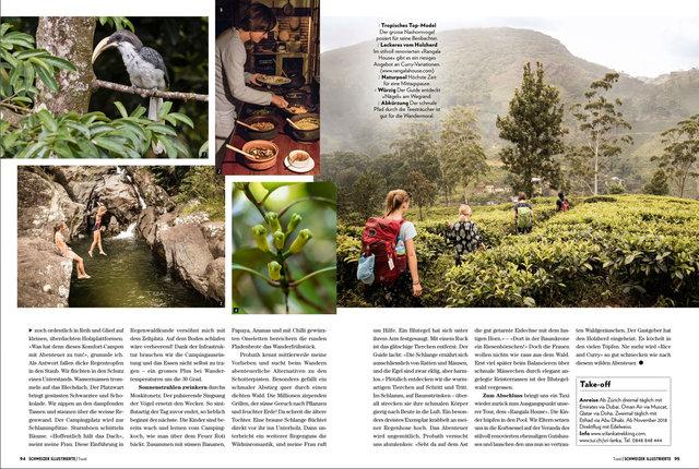 SI Travel, 01/18, Trekking Sri Lanka, Text&Foto