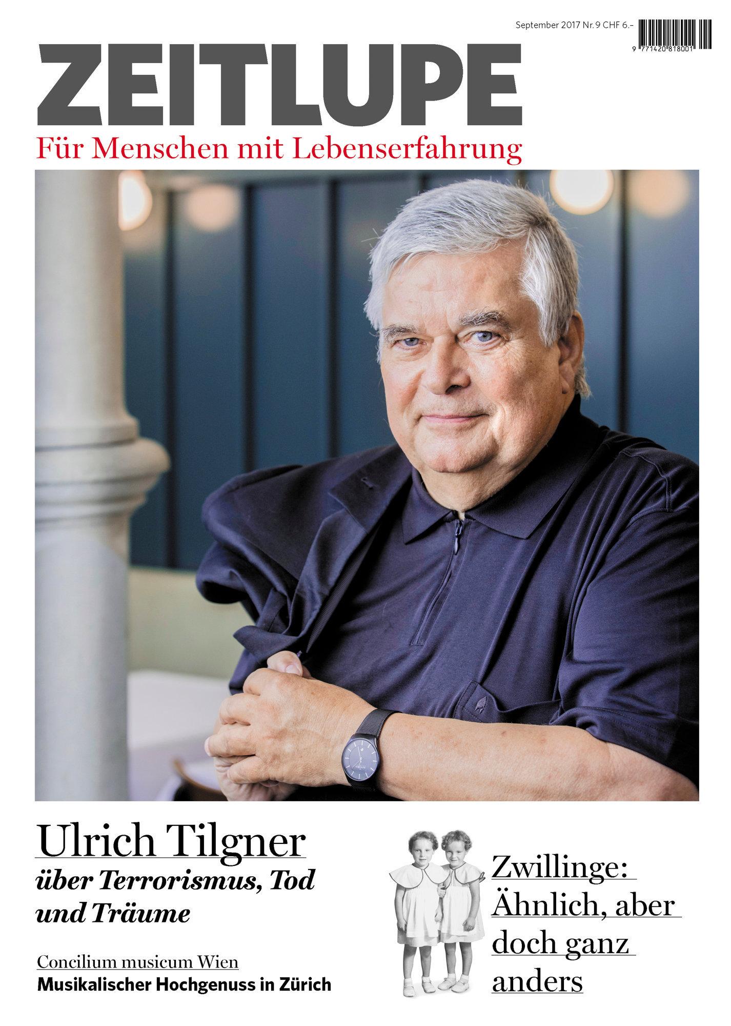 Ulrich Tilgner, Zeitlupe, September 2017