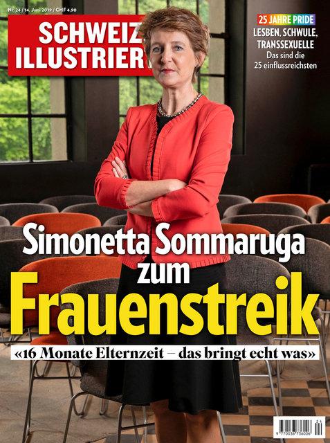 Bundesrätin Simonetta Sommaruga, 14. Juni 2019