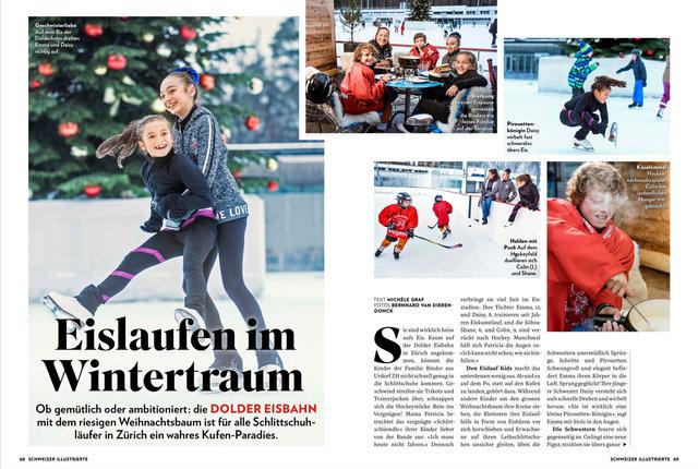 Schweizer Illustrierte, Dezember 2017