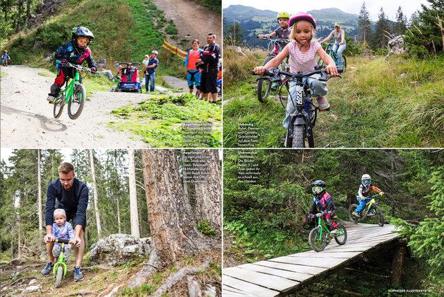 Mountainbike Lenzerheide, Schweizer Illustrierte, Juni 2017