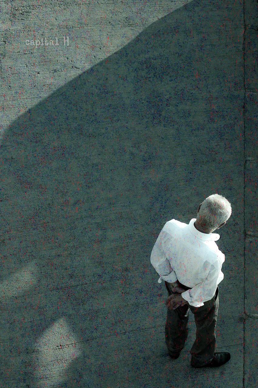 """Peter Edel, """"CAPITAL H"""", 2013"""