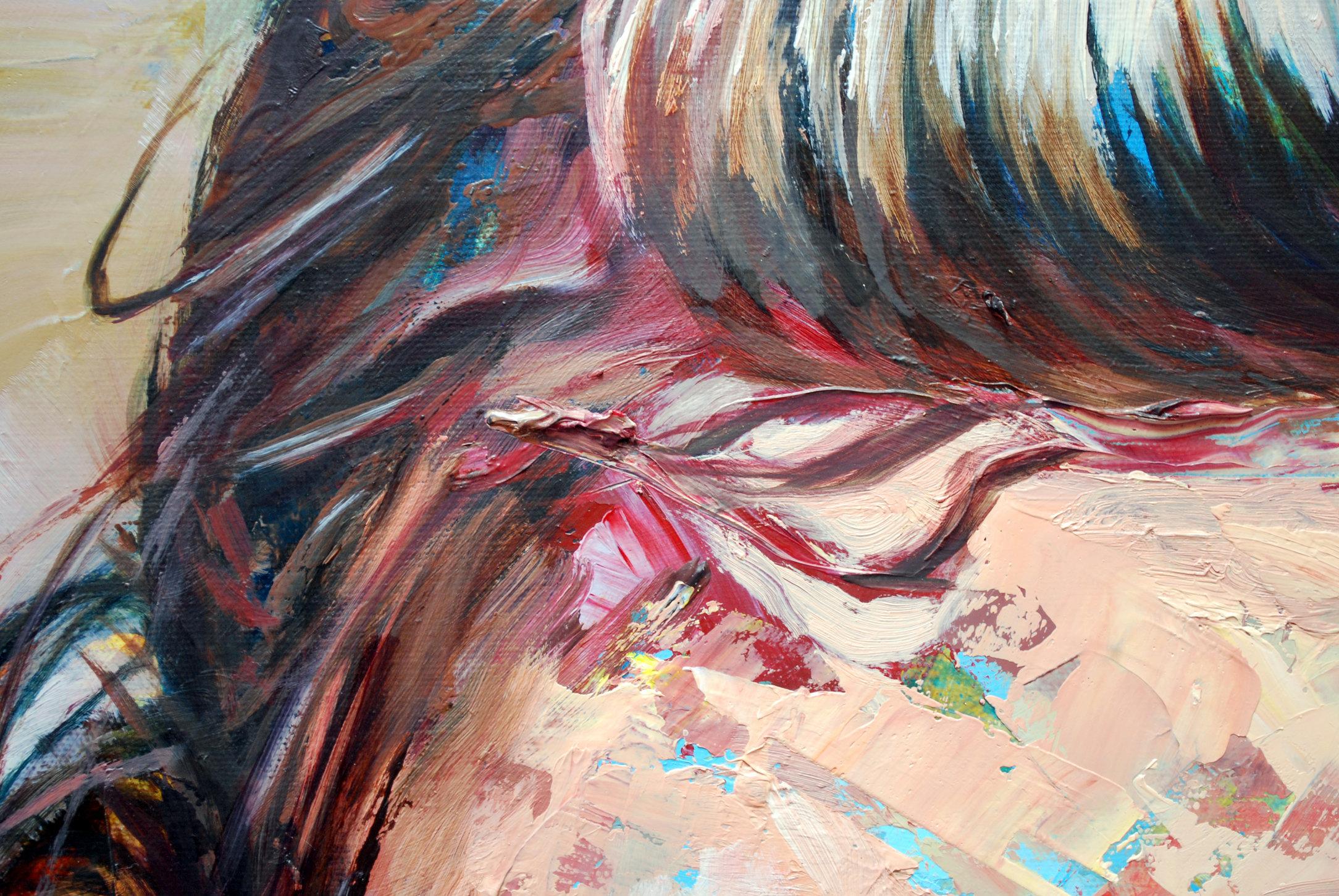 (Detail) Goodbye Horses (Lavender Lover)