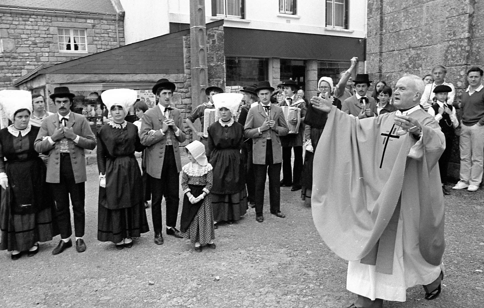 Fête bretonne à Ploëmel, Morbihan, 1979