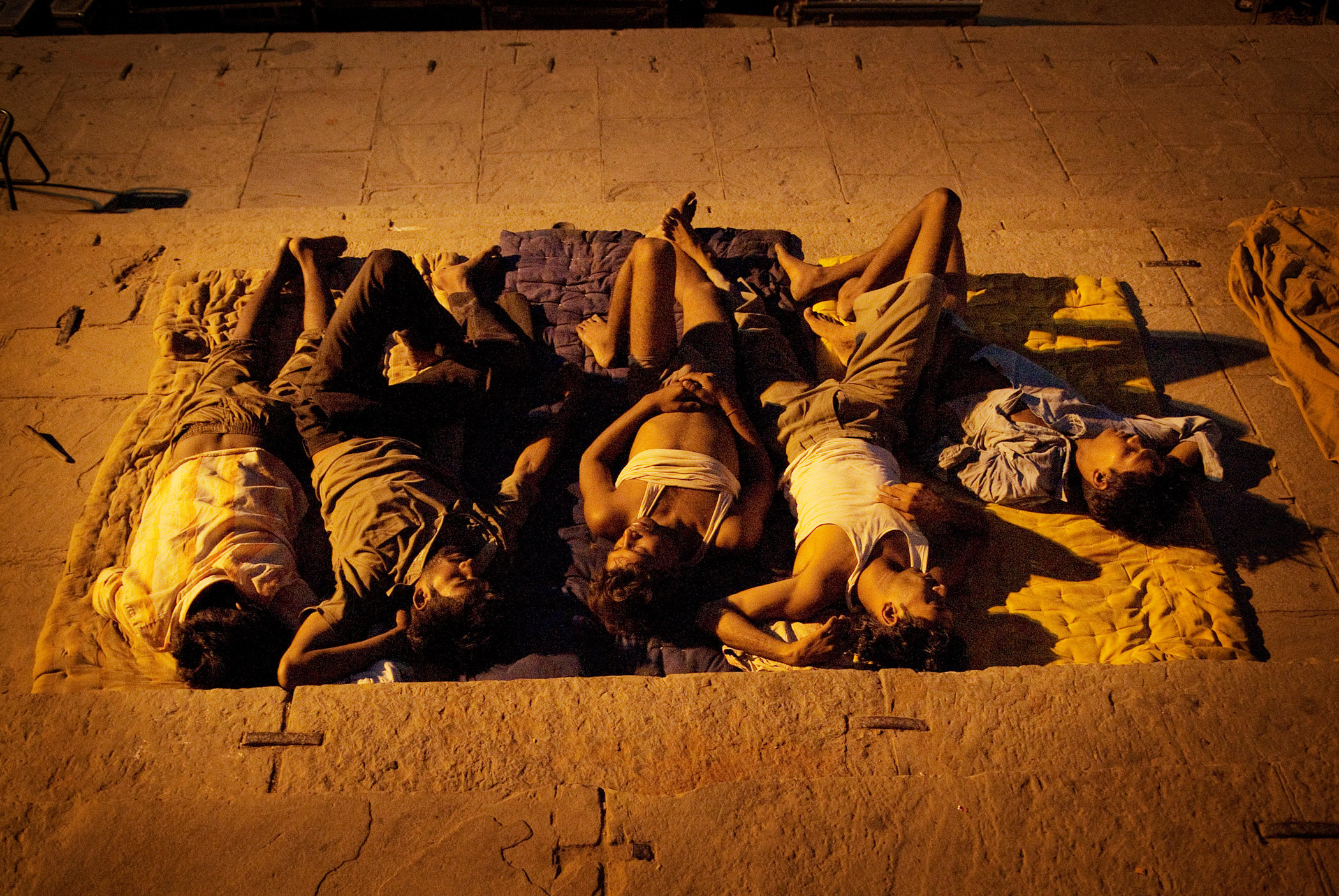 Sleeping on the Ganges II