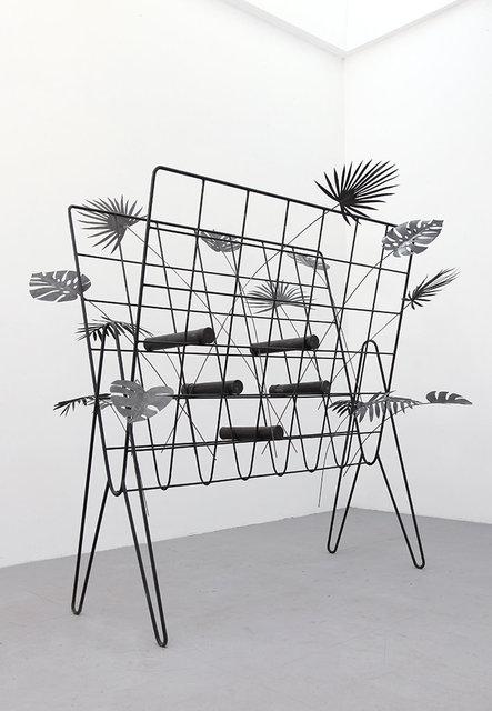Tropical Archive, 2020.  Iron, 100 x 208 x 220 cm